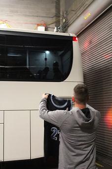 Daniel Megeath, Owner - Believe in One - Kevin Garnett bus