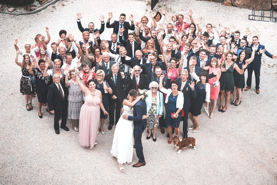 182 Hochzeit Bettina und Flo -  Gruppenb