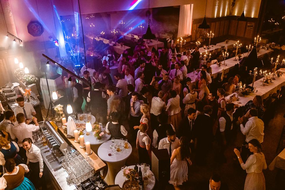 975 Hochzeit Lisa und Sepp  -  Abend und