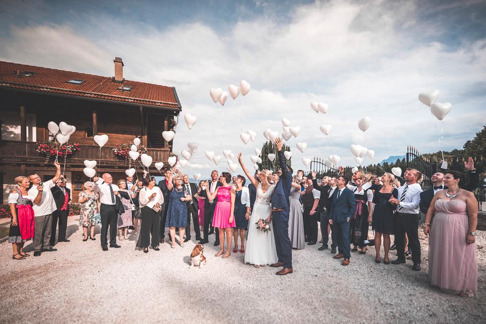 429 Hochzeit Bettina und Flo -  Luftball