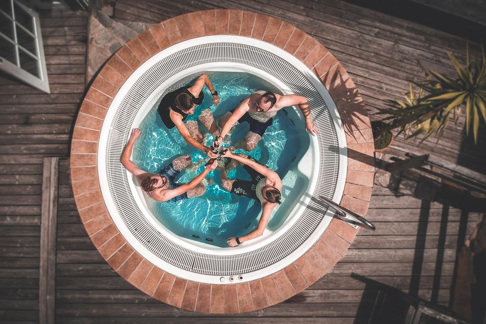 3 Hochzeit Bettina und Flo -  Pool Sessi