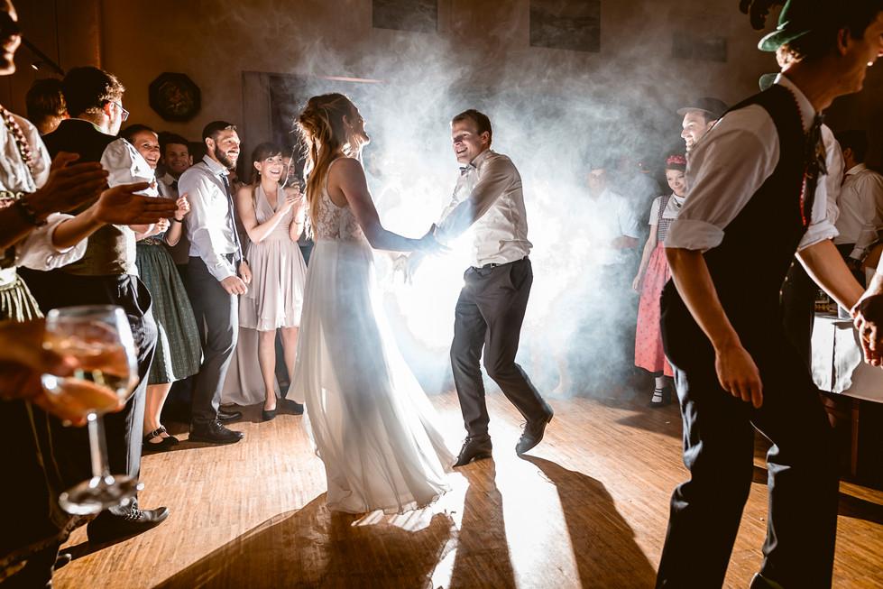 937 Hochzeit Lisa und Sepp  -  Abend und