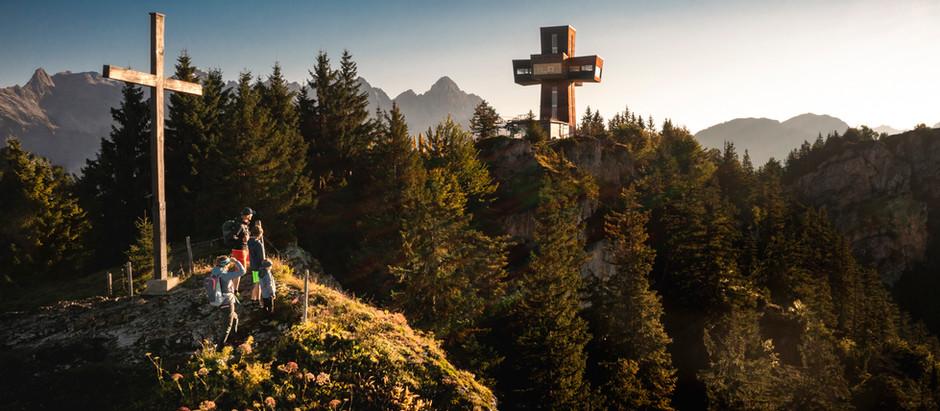 Familien shooting für den Tourismus Verband Pillersee Tal