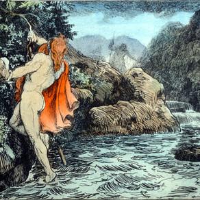 Skáldskaparmál, Thor hos Geirrød