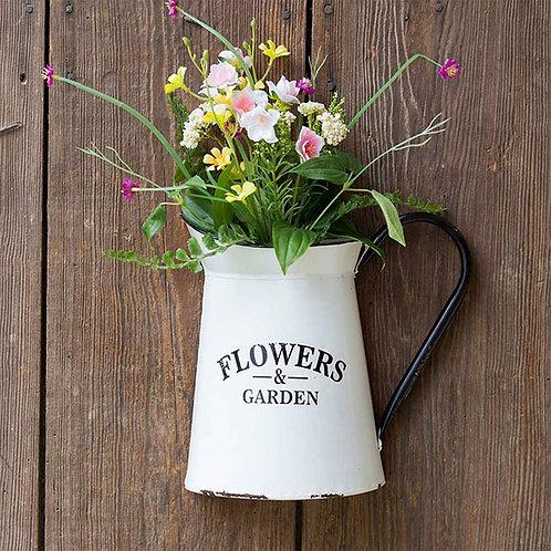 Flower Pitcher WallDecor