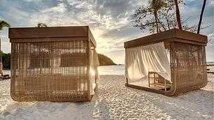 St. Lucia - Royalton beach lounge - Copy