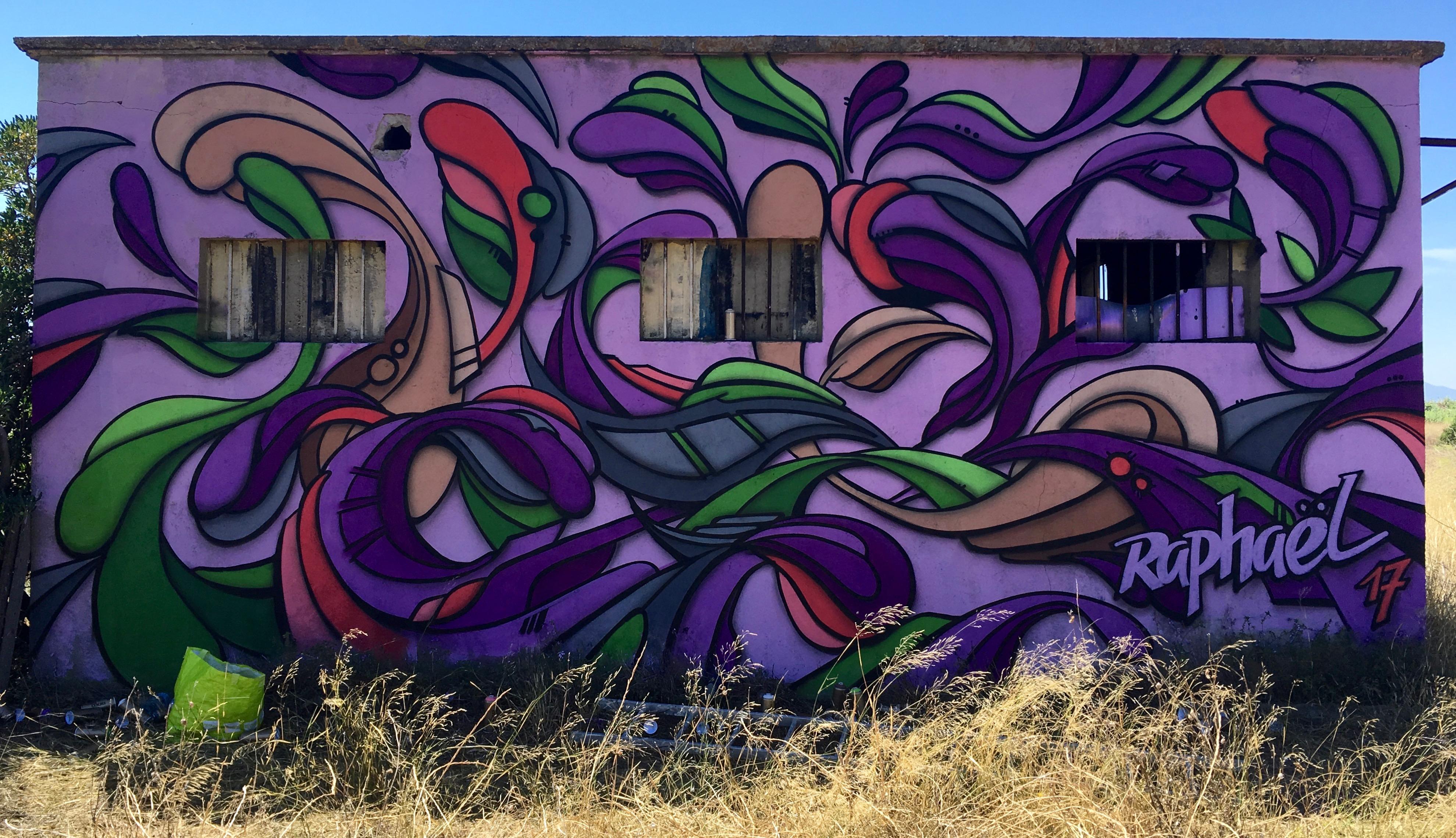 Graff à St laurent de la Salanque