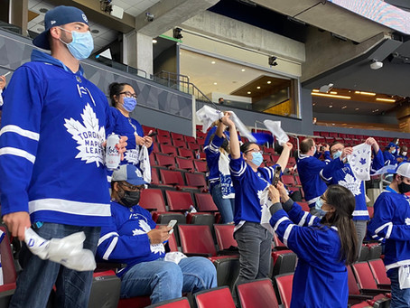 """550 Healthcare Workers Call Leafs Game """"Worst Experience of Last 14 Months"""""""