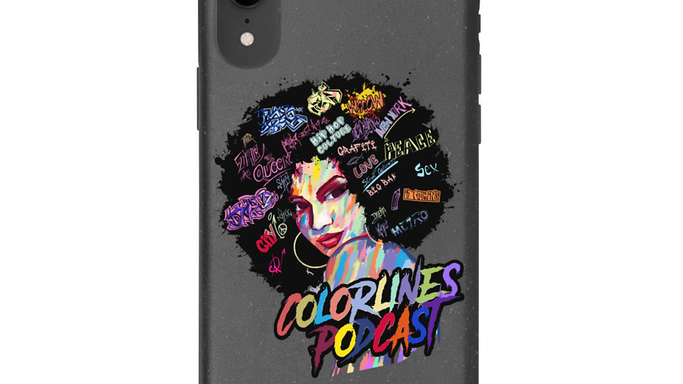 Colorlines Podcast Biodegradable phone case