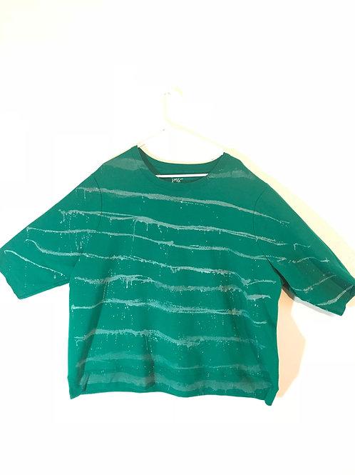 Oversize Striped Sweatshirt