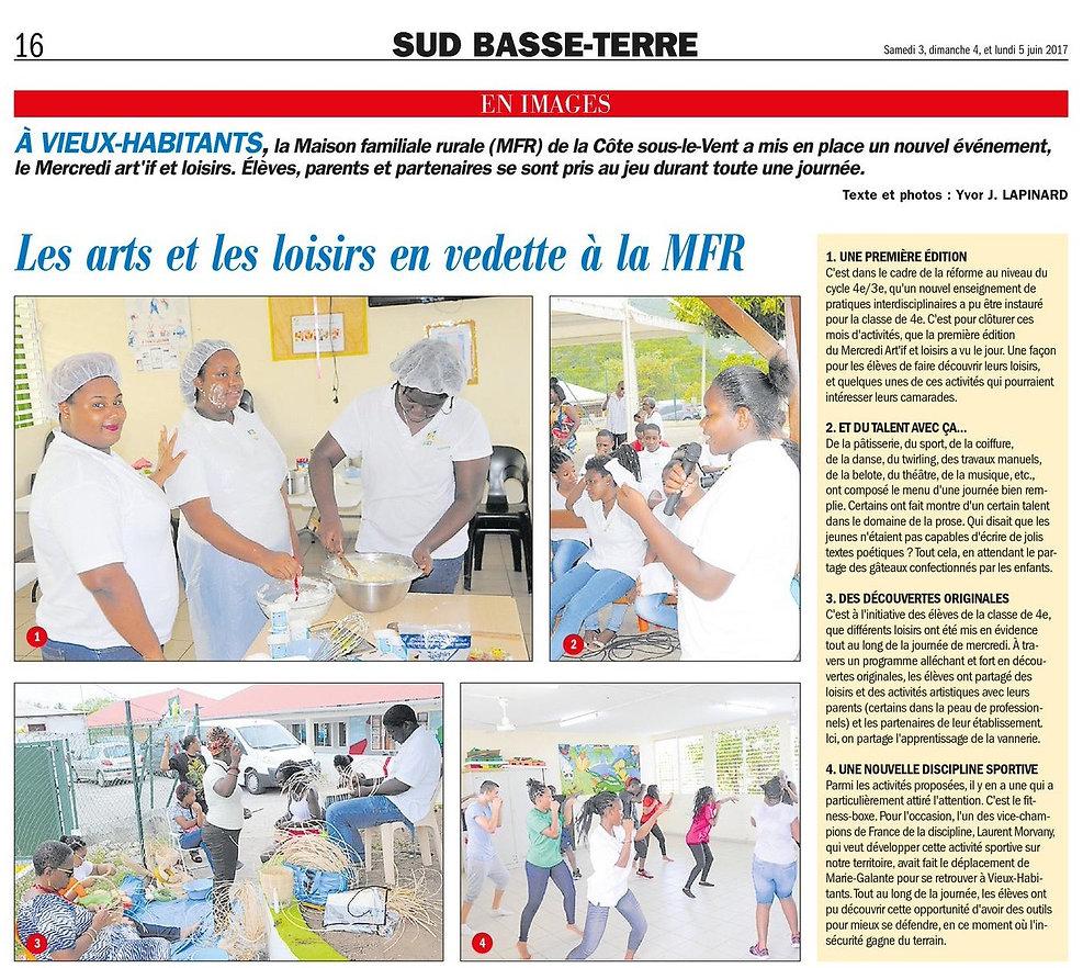 France-Antilles_170603_-_Les_Arts_et_les