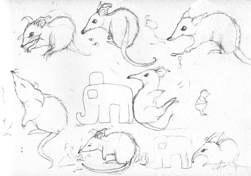 Bandi character sketches