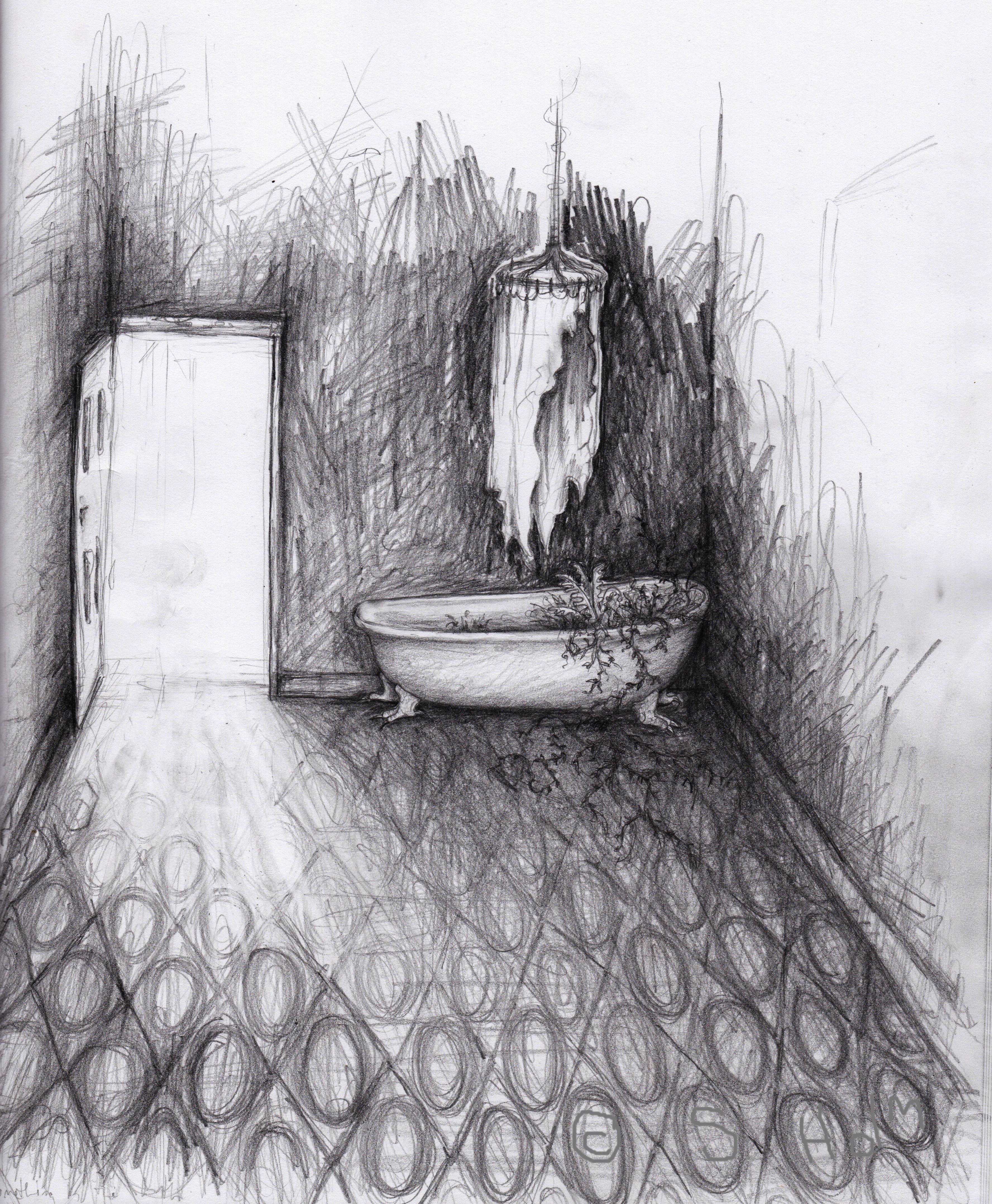 Creepy bath