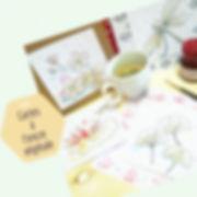 Cartes Encre vegetale - ArtsBrunettes co