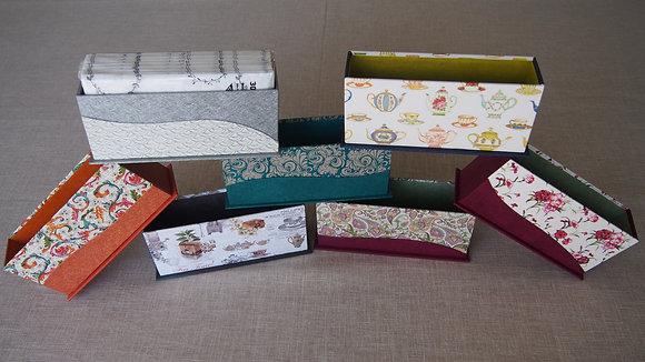 Jeudi - Atelier Cartonnage – Boite à serviettes