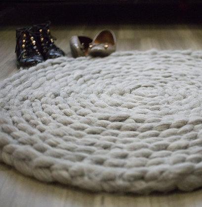 Samedi - Atelier crochetmain : tapis en laine XXXL