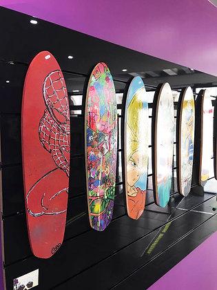 (r) Dimanche: Customisation d'une planche de skate