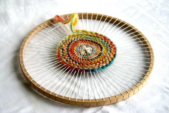 Vendredi - Atelier tissage circulaire ou carré