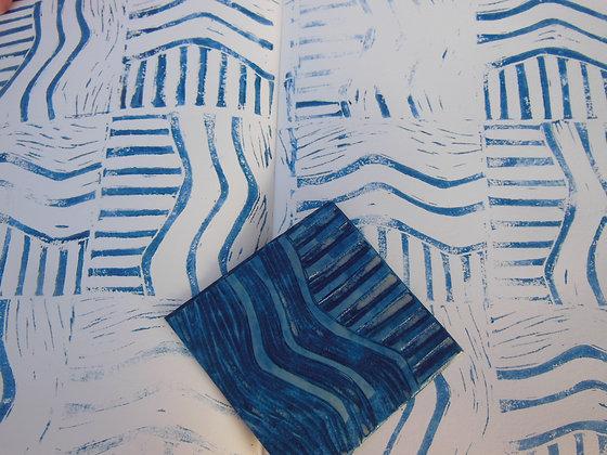 R Vendredi : Linogravure, formes et impressions