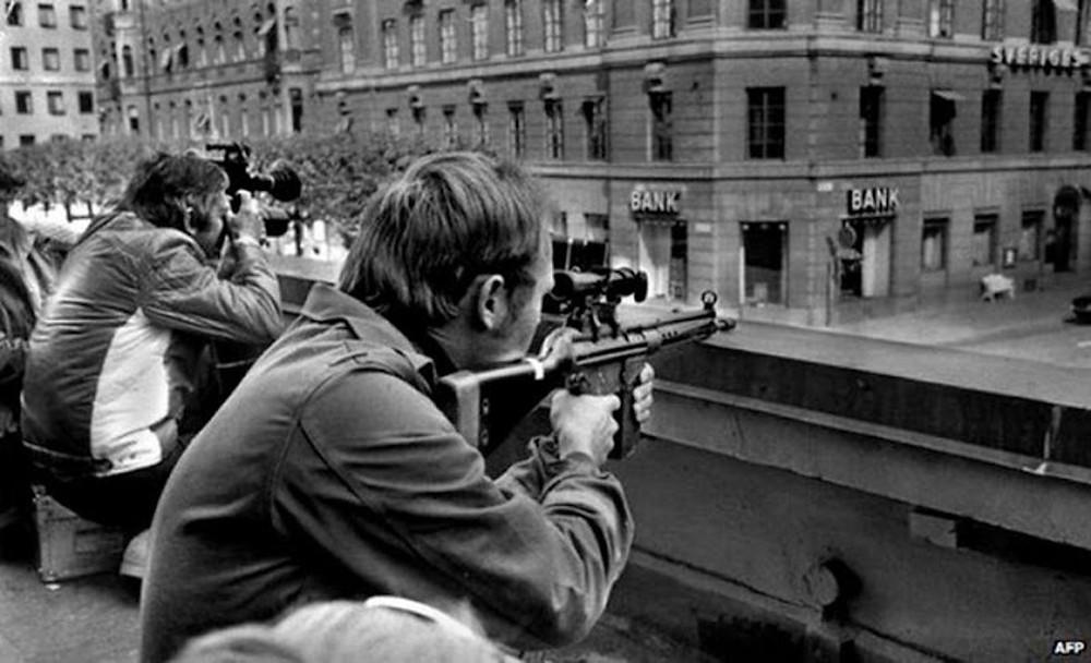 Ограбление на площади Норрмальмсторг