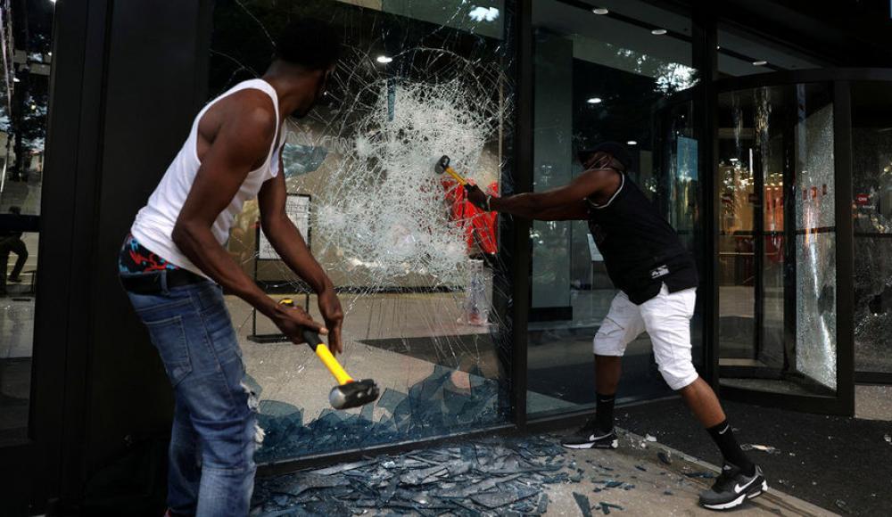 Массовые беспорядки в США 2020 года - black lives matters