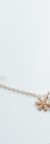 snowflake and zirconia necklace