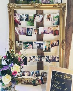 Gold Frame with Photos