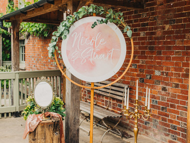 Gorgeous wedding at Sopley Mill