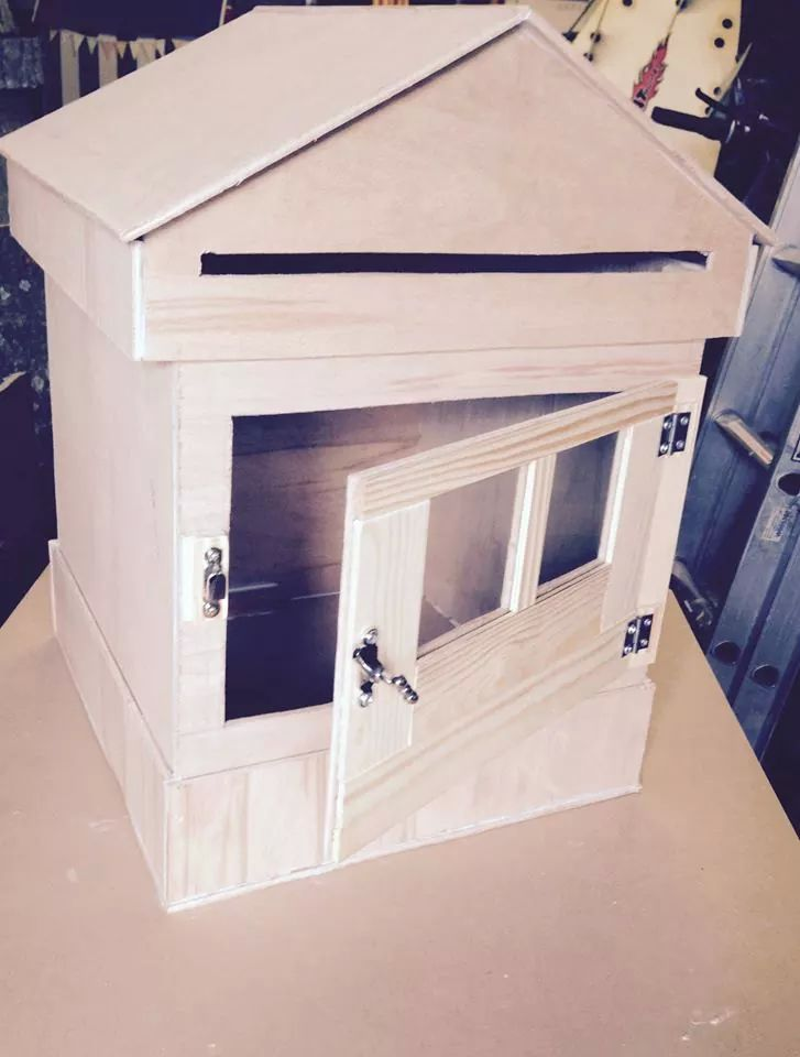 new post box for wedding cards