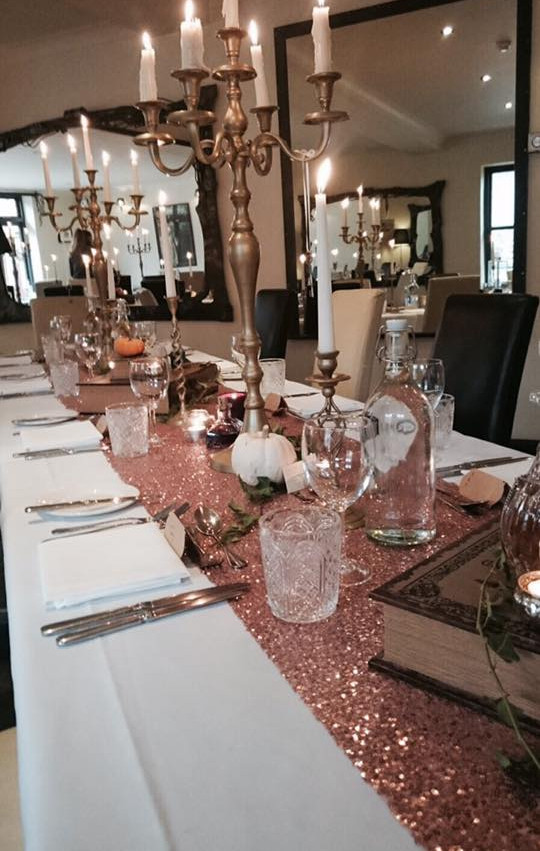 Harry Potter Themed Tablescape