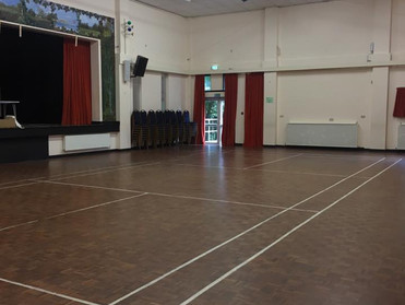 Brockenhurst Village Hall transformation!