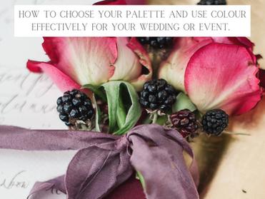 Shhhhhh.....Can you keep a secret? Colour Palettes- The Big Secret.