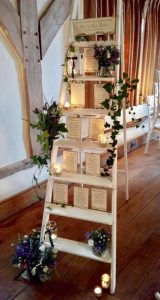 Rustic White Ladder