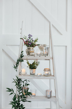 PALE GREY LADDER
