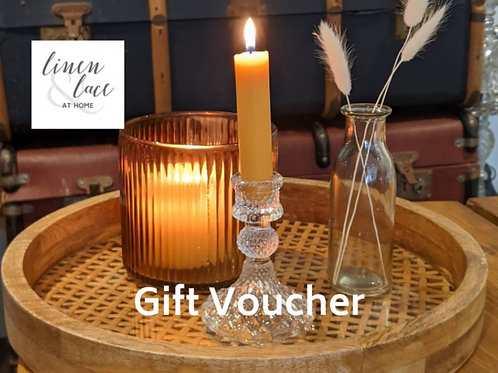 £50 Linen & Lace at Home Gift Voucher