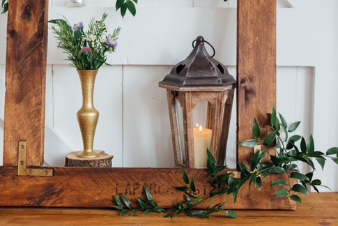 RUSTIC HEXAGONAL LANTERNS