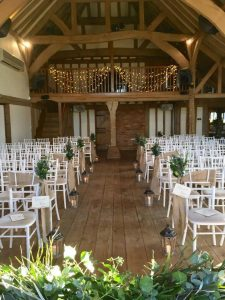 Cain Manor Ceremony Aisle