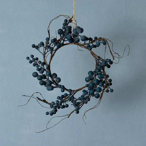 Blueberry Table or Hanging Wreath