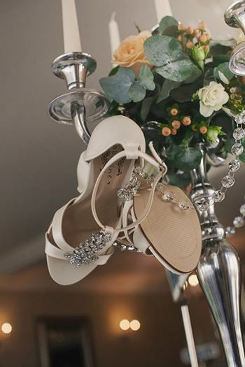 Candelabra Set-up with Shoes
