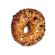 SUNFLOWER SEEDS BAGEL