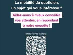 PROXIM ITI : La mobilité du quotidien, un sujet qui vous intéresse?
