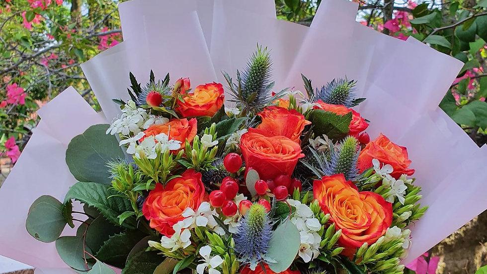 Sunset Blooms Bouquet