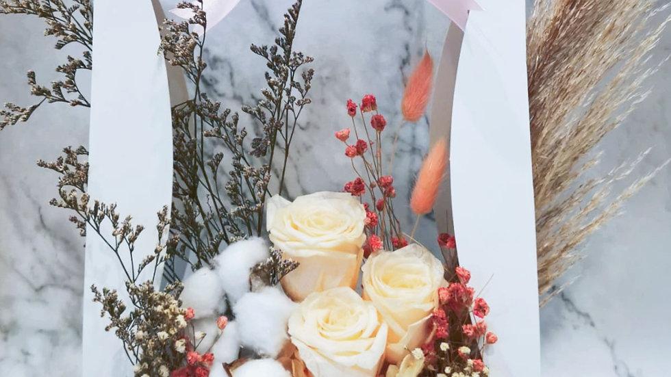 Forever Love - Preserved Flowers Bloom Box