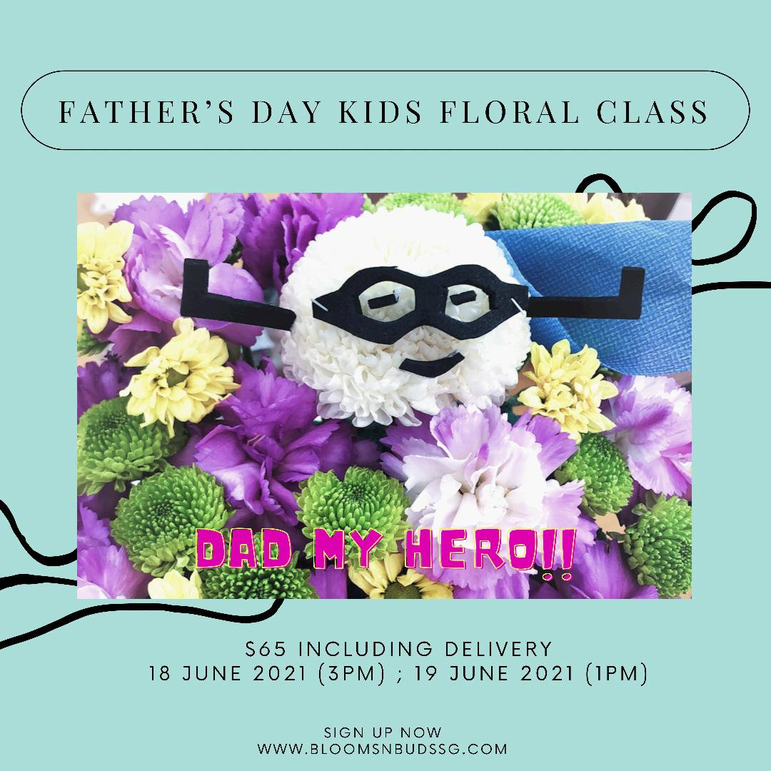 Father's Day Kids floral Class