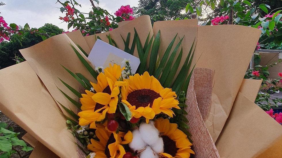 Rustic Sunflower Bouquet