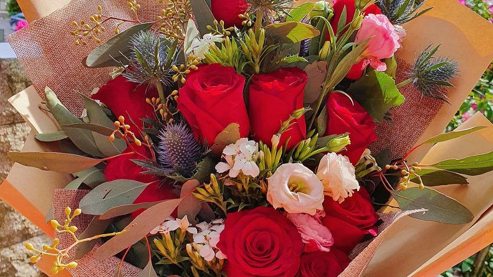 Crimson Delights Bouquet