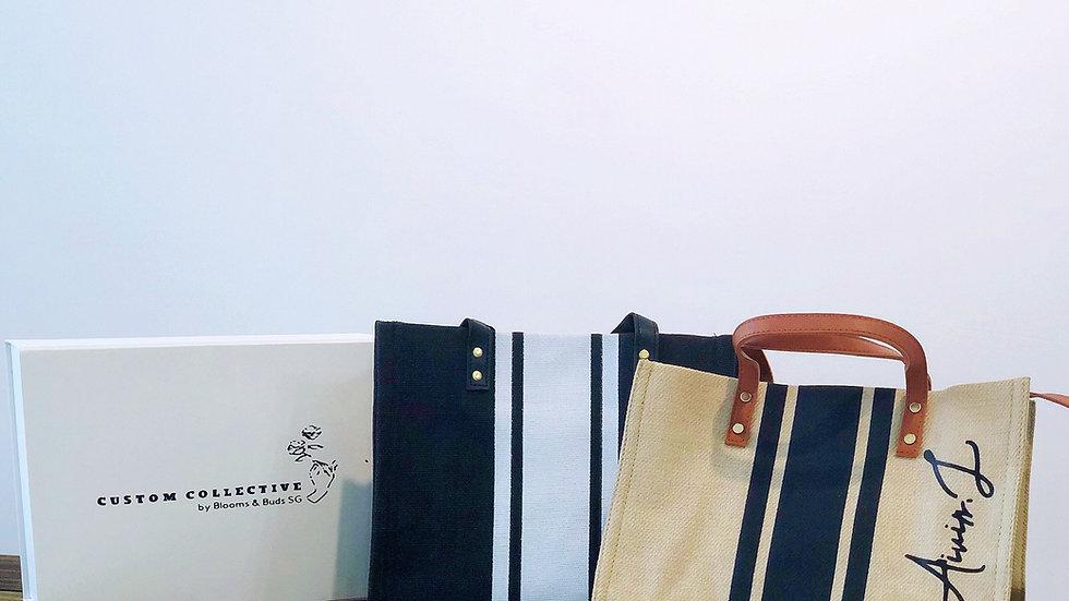 Customised Korean Burlap Bag