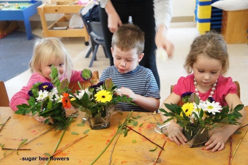 Kids Floral Arrangement Classes