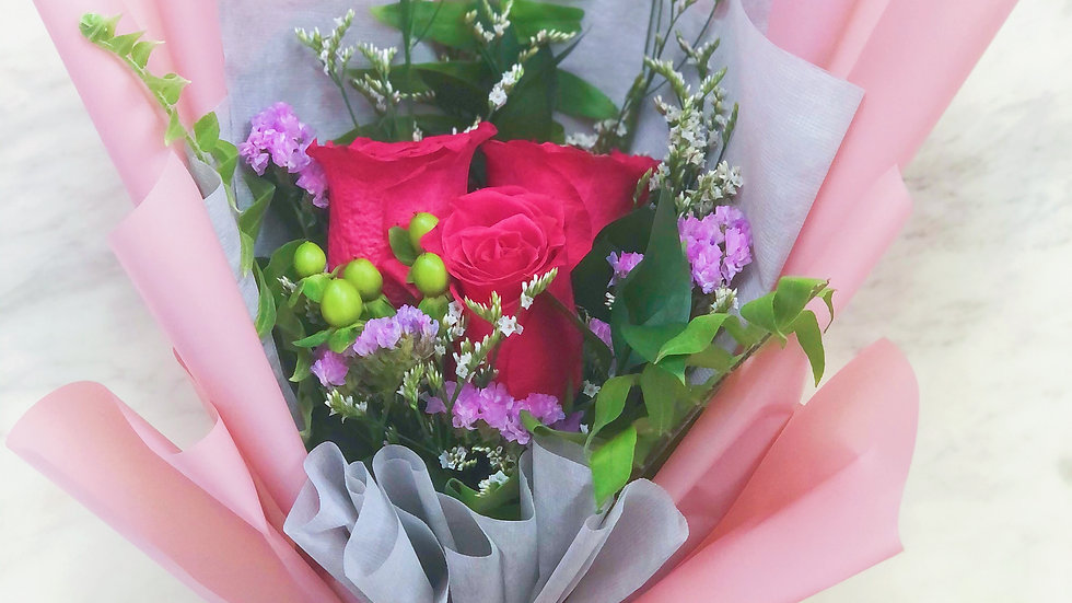 I LOVE YOU Rose Bouquet