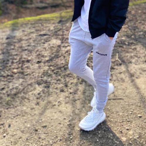 Grey Skinny Fit Joggers